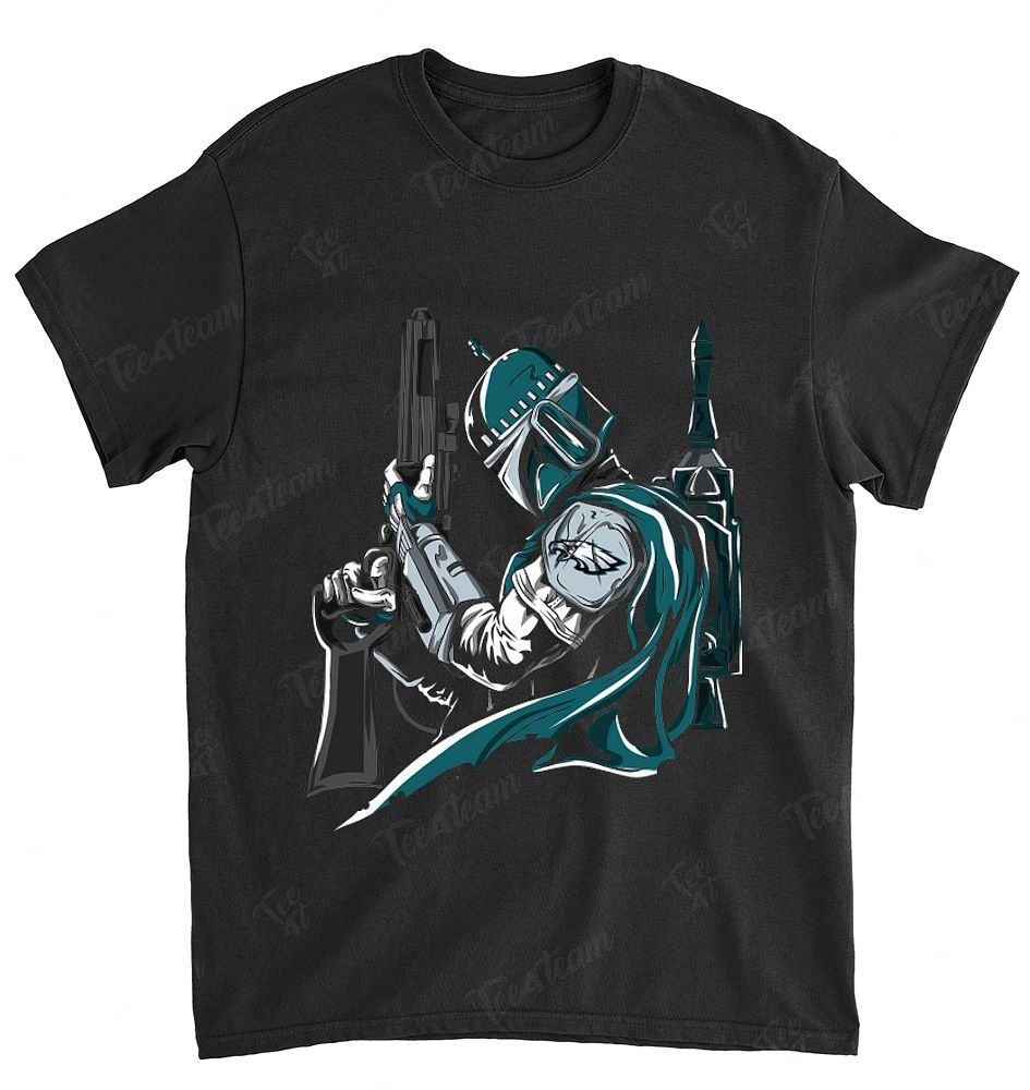 NFL Philadelphia Eagles 030 Boba Fett Star Wars