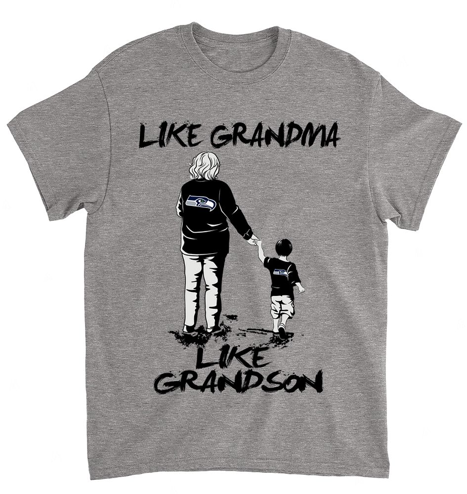 NFL Seattle Seahawks 062 Like Grandma Like Grandson