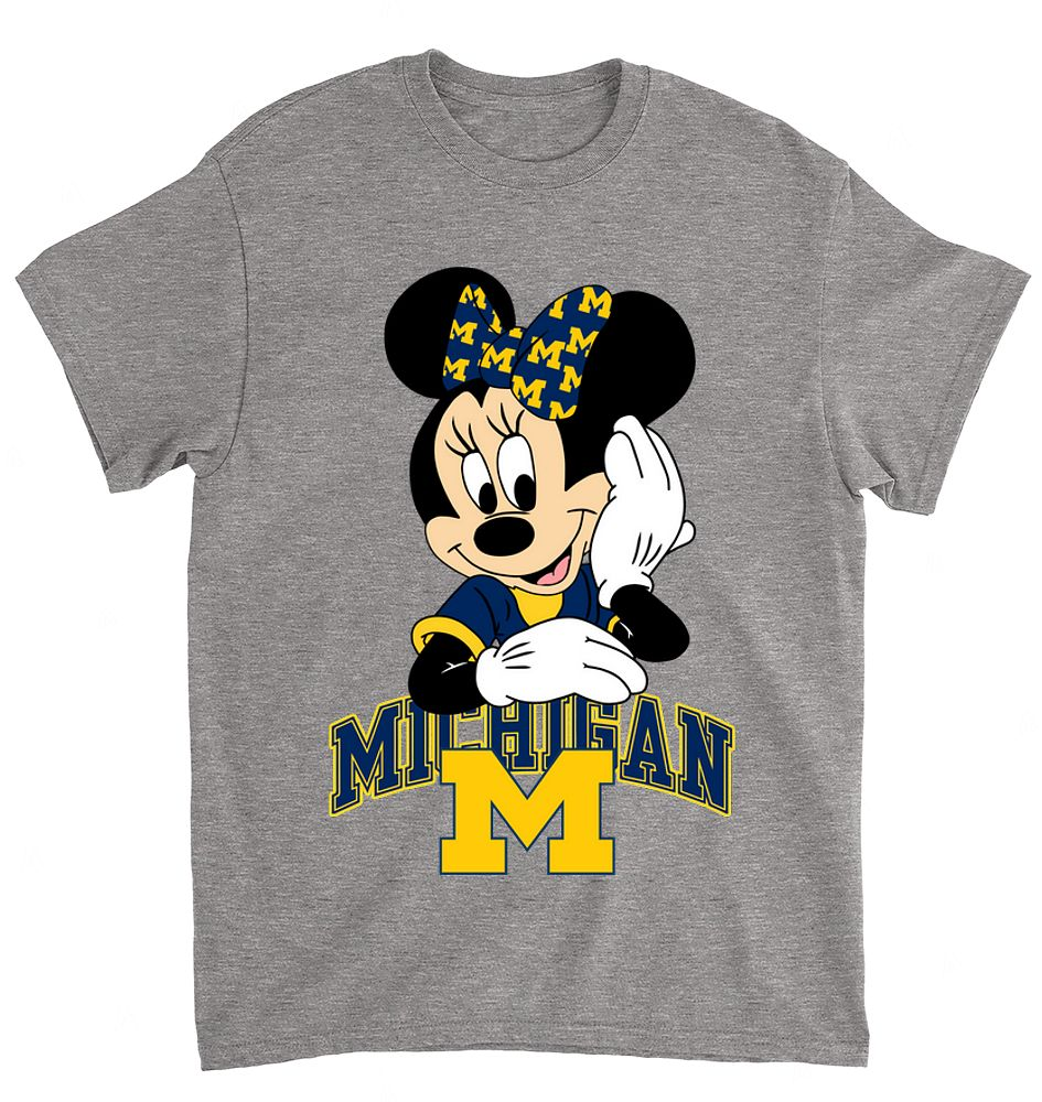 NCAA Michigan Wolverines 054 Mimi Mouse Walt Disney