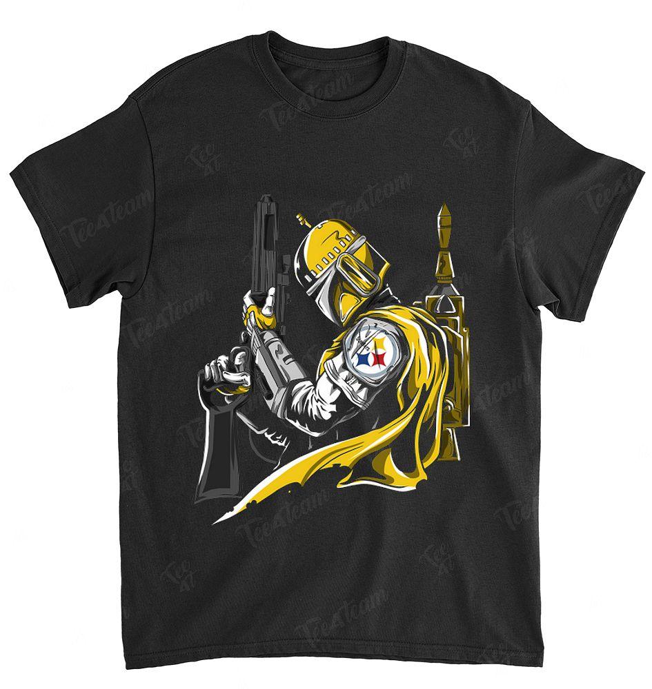 NFL Pittsburgh Steelers 030 Boba Fett Star Wars