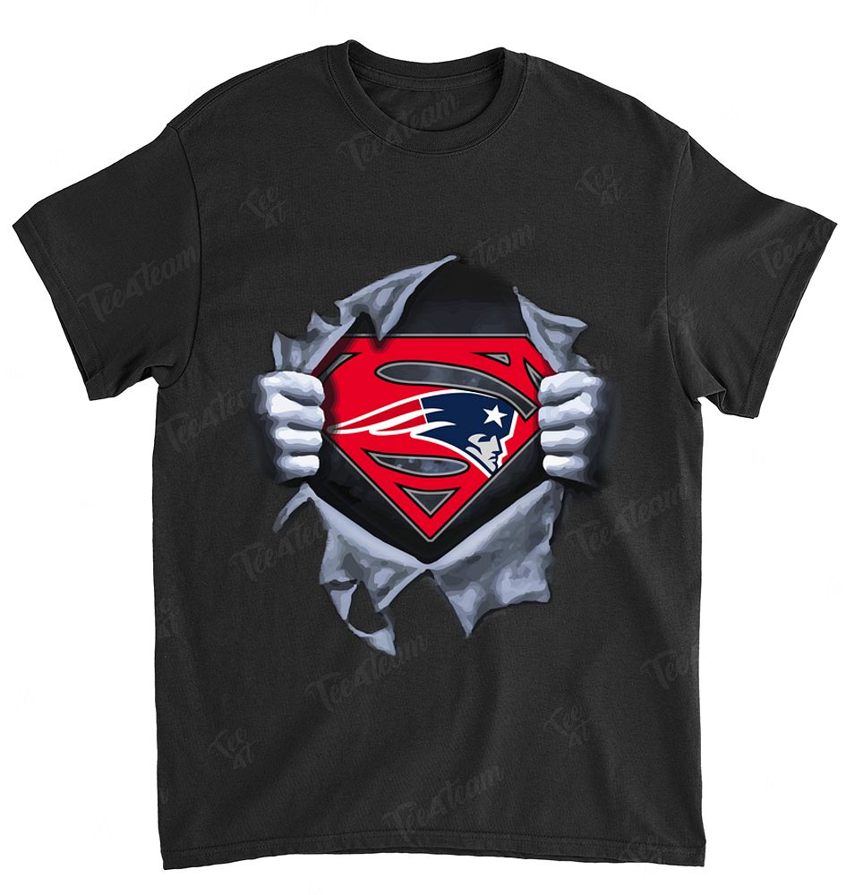 NFL New England Patriots 071 Superman Logo Dc Marvel Jersey Superhero Avenger