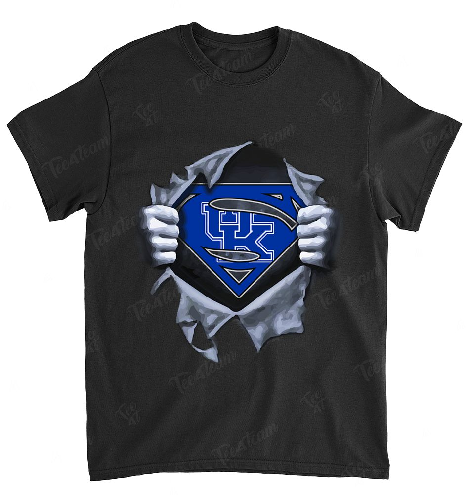 NCAA Kentucky Wildcats 071 Superman Logo Dc Marvel Jersey Superhero Avenger