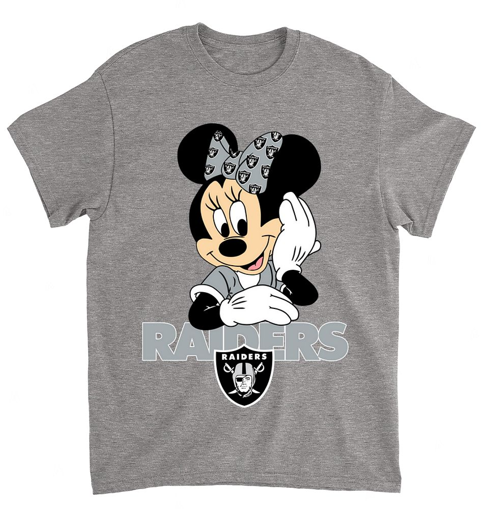 NFL Oakland Raiders 054 Mimi Mouse Walt Disney