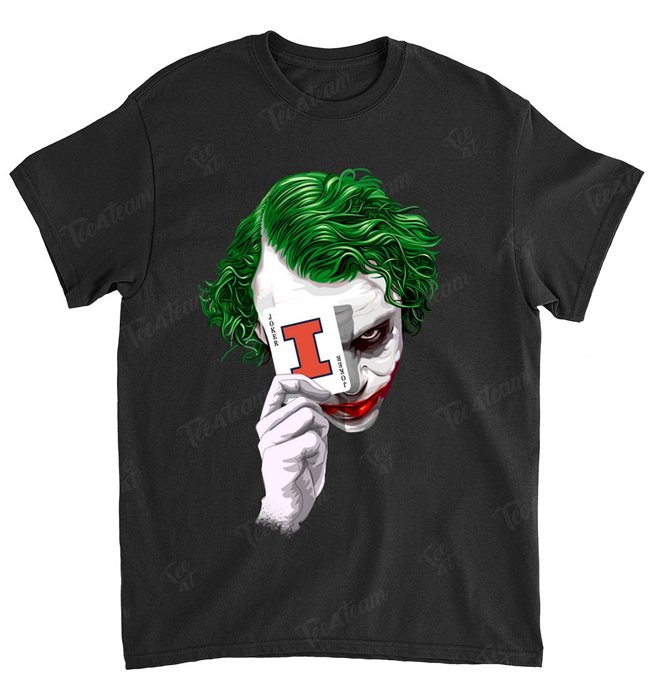 NCAA Illinois Fighting Illini 009 Joker Dc Marvel Jersey Superhero Avenger