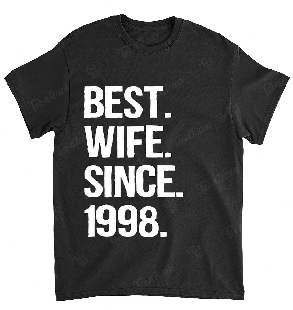 20 Year Wedding Anniversary Gift For Wife: 20th Wedding Anniversary Gift, Best Wife Since 1998